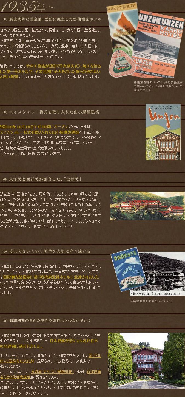 ホテルの歴史